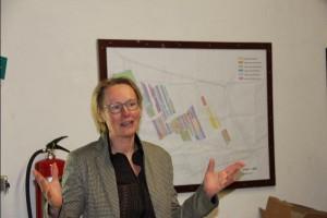 Els Lenting, gemeente Zaanstad, heeft een stimulerende rol gespeeld
