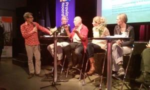 Ron Sman en Rolf Surink in het panel op de Dialoogdag
