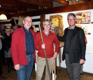Rolf Surink, John van Loon en Ron Sman