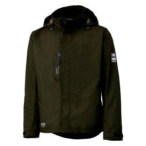 Heely hansen haag jacket loive groen